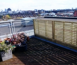 Roof Terrace Fencing