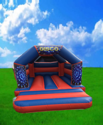 Disco Bouncy Castle Hire Peterborough