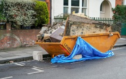 Overfilled Skip in Liverpool