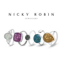 Nicky Robin Memorial Jewellery Shimmering Rings