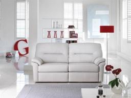 G Plan Washington Leather Sofa