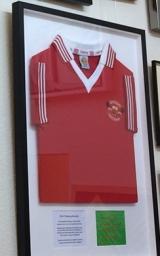 Sports Shirt Framing Sample