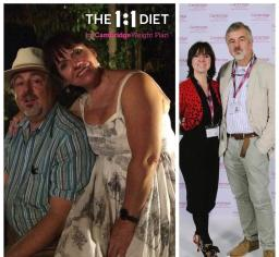 Francesca and Theo Before and After the 1:1 Diet
