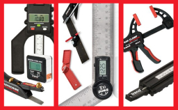 Measuring equipment for woodworking