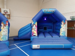 Princess bouncy castle hire chesterfield