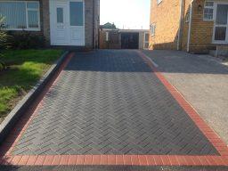 Imprinted concrete block paving service