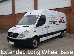 extended long wheel base sprinter transit