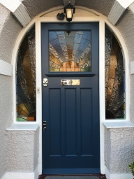 Bespoke front door in London