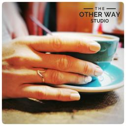 Handmade Silver Wave Ring