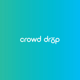 Crowd Drop Logo