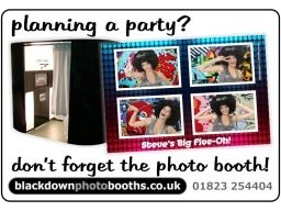Blackdown Photo Booths of Taunton