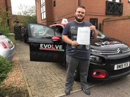 Sam Hitchcock first time pass