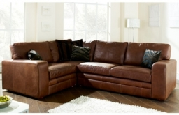 Modular Leather Corner Sofa