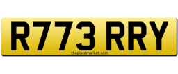 Terry personalised registration number plate