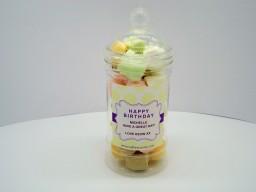 Saltire Candy Personalised Sweet Jar