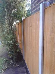 Fence installed - Feltham