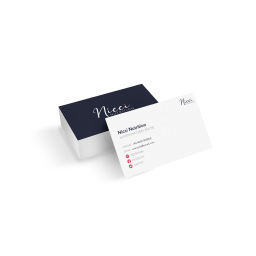 Nicci Nutrtion Business Card Design
