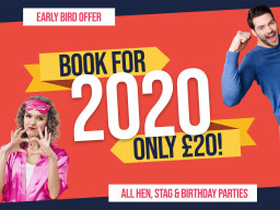 Our Early Bird Deposit Offer for 2020