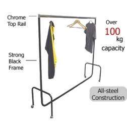 Traditional Garment Rails