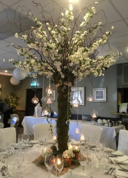 Wedding Table Arrangements by Flower Design, Ripon