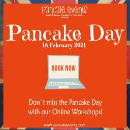 Pancake Day Catering and Online Workshop London