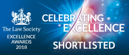 Law Society Excellence Award Shortlisted