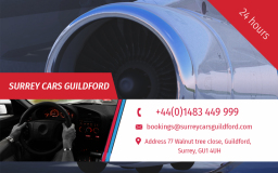 Walton on Thames  Airport taxi Transfers