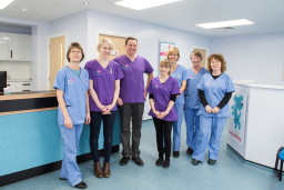 Some of the team at Yorkshire Vets Morley