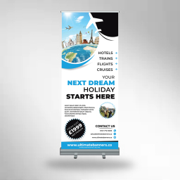A banner we printed