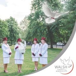 Walsh Funerals & Memorials - Dove release