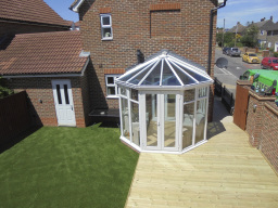 Artificial Grass & Decking Installation