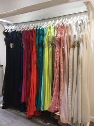 Prom Dresses in Posche store