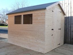 Shed, Apex roof