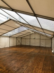 Utilise your space with temporary structures