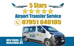 5 star Airport taxi and transfers by MPH Travel