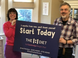Start The 1:1 Diet Today with Francesca and Theo