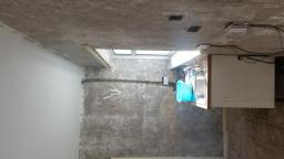 walls with electrics installed