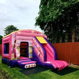 princess castle with slide