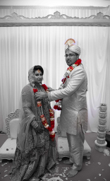 asian bride, asian wedding, bride, groom, hindu