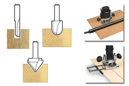 Routing tools and accessories