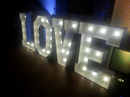 Giant Letter Hire in Essex