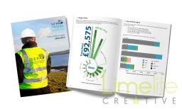 Publication design for SEPA's Enforcement report
