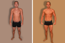 Muscle Development Body Transformation
