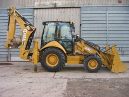 Cat 428 Backhoe Loader 4