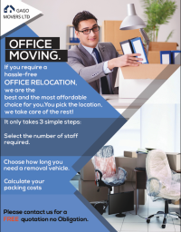 Office move company in london