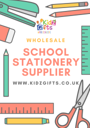 Place to buy wholesale stationery is Kidz Gifts