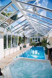 New Conservatory Edwardian Glass Roof