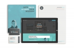 Luke Jackson Design branding collateral