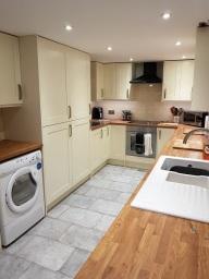 Kitchen Tiling in Washford, Somerset.