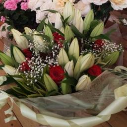 Flower Bouquet by Moments Florist Chester